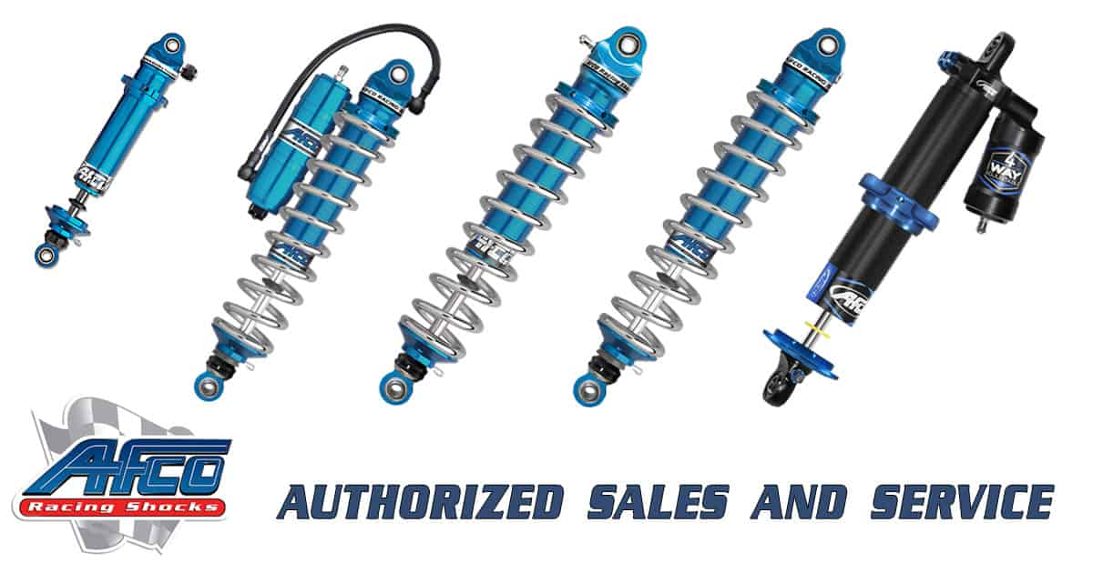 Competitive Suspension Solutions is Now an Authorized Dealer for AFCO Performance Products